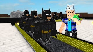 THE BATMAN FACTORY IN ROBLOX!! -Play Old man