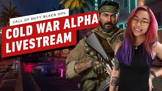Call of Duty: Cold War PS4 Alpha - IGN Plays Live