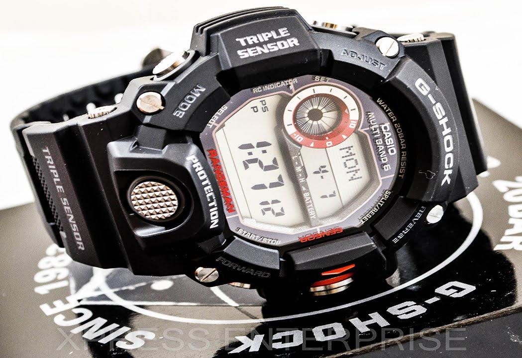 Casio Gshock Rangeman Gw9400 1 Review How To Set Time Light