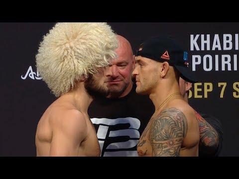 UFC 242: Обзор церемонии взвешивания