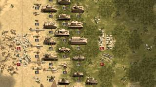 Panzer Corps: Afrika Korps Gameplay Trailer (HD)