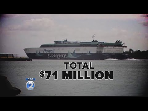 State auditor says Hawaii will pay $71 million Superferry tab until 2028