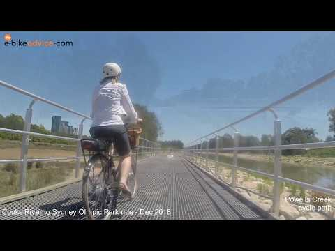Cooks River To Sydney Olympic Park Ride