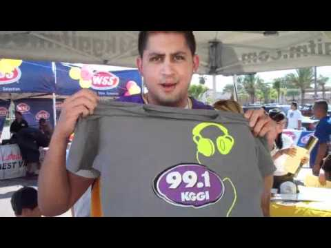 NICK NACK AND 991 KGGI AT WSS IN RIVERSIDE AUG 27 2011