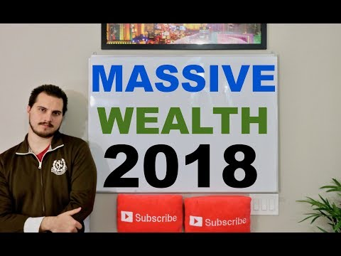 How To Build Massive Wealth in 2018 and Beyond