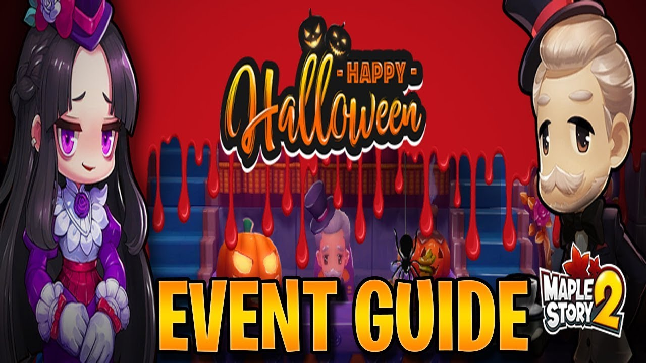 Maplestory Halloween Events 2020 Halloween Event Guide   MapleStory 2   YouTube
