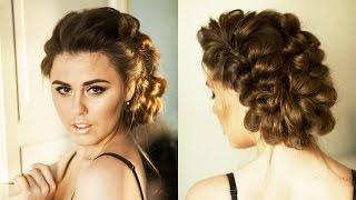 видео Супер объем у корней. Шикарные локоны. Укладка волос за 5 минут / Voluminous Hair | YourBestBlog
