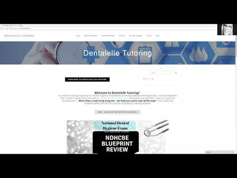 Dental hygienist myhiton new blueprint for dental hygiene national exam malvernweather Images