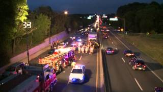 Pre-Arrival video of fatal accident; Rt. 22 in Whitehall, PA.
