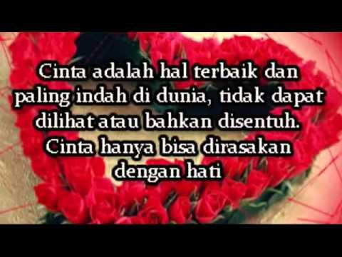 ▶ Kata kata Mutiara Cinta