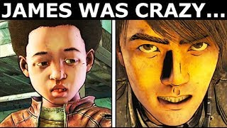 James Was Crazy... - Unique Dialogue With AJ - The Walking Dead Final Season 4 Episode 4
