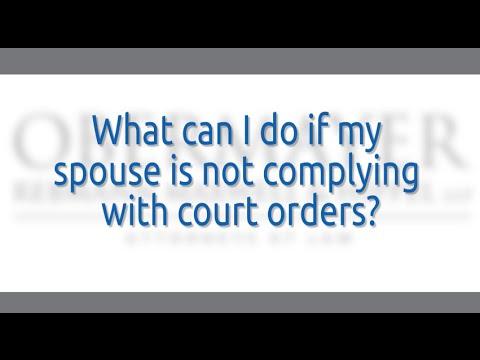 Filing Enforcement Applications: Camden County Divorce Attorneys