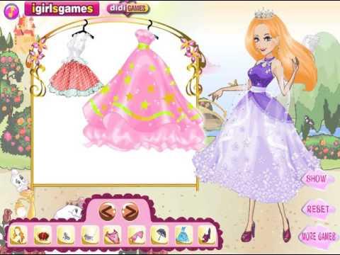 Мультик игра Одевалка: Прекрасная осенняя принцесса (Lovely Autumn Princess)