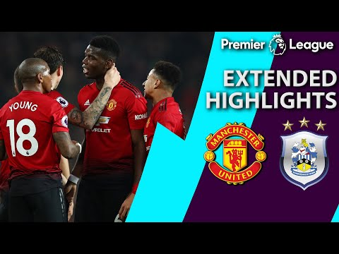 Manchester United v. Huddersfield | PREMIER LEAGUE EXTENDED HIGHLIGHTS | 12/26/18 | NBC Sports