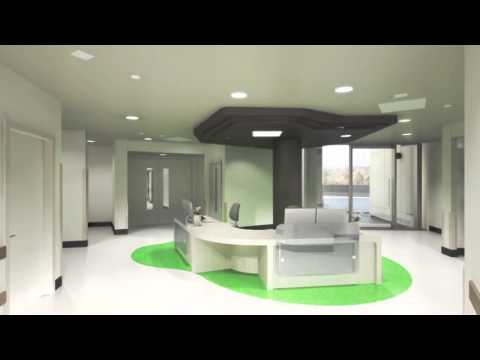 Perth Children's Hospital – inpatient rooms and wards fly-through