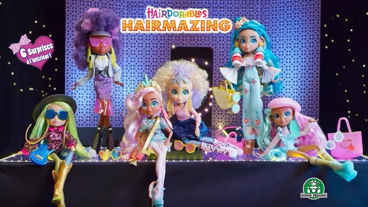 Hairdorables / Hairmazing / Pub TV / Giochi France