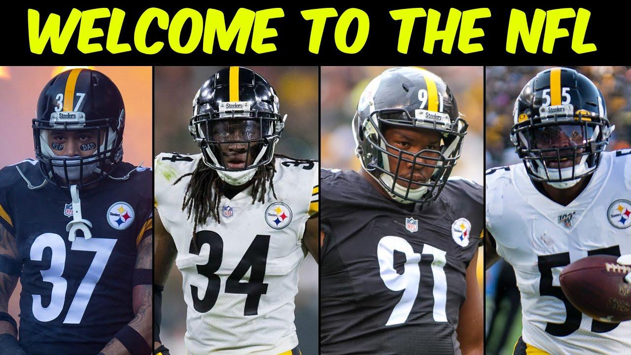 Welcome To The NFL Moment (Jordan Dangerfield, Terrell Edmunds, Stephon Tuitt, Devin Bush)