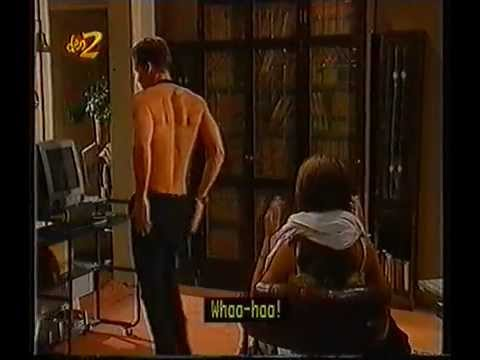 Home and Away -  Vinnie strips for Leah