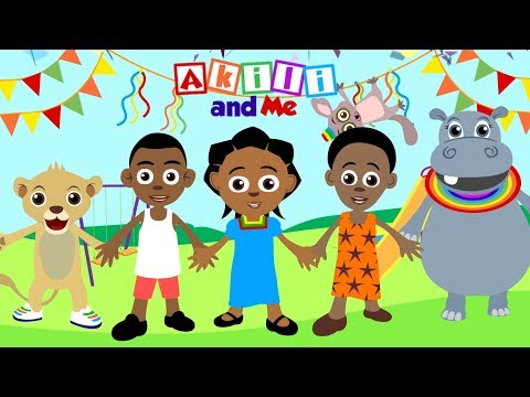 "Preschool Songs from Akili and Me | ""Let's Introduce Ourselves"" 