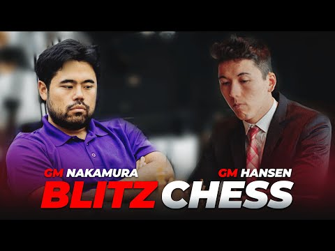 Hikaru Nakamura vs Eric Hansen BLITZ Feb 2017