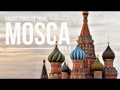 TRANS EURASIA TRAIL - Tappa 4 - Mosca, piazza rossa ed il Cremlino - Vlog
