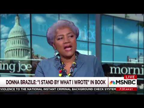 Donna Brazile Struggles To Explain How The 2016 Democratic Primary Wasn't Rigged