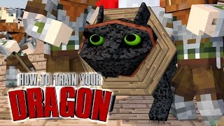 "Minecraft | How To Train Your Dragon Ep 22! ""WATER DRAGONS ARE CAPTURED"""
