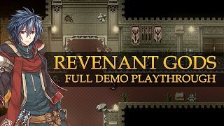 Revenant Gods - Prologue Demo Gameplay & First Impressions — RPG Maker XP Game