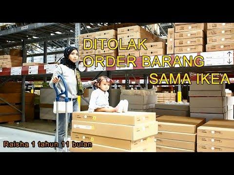 Ditolak order Barang sama IKEA | Righaz Family Vlog Indonesia Malaysia