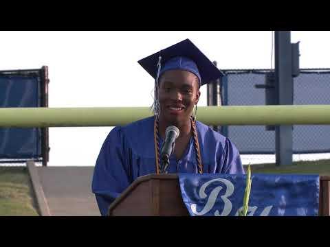 Bosqueville High School 2020 Graduation