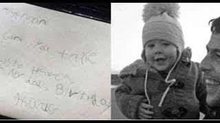Малыш написал письмо папе ″на небеса″. И на почте ему ответили!