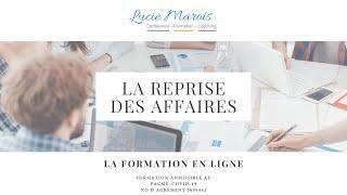 La reprise des affaires – La formation en ligne