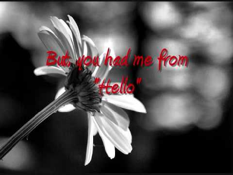 Kenny Chesney *You Had Me From Hello* [Lyrics]
