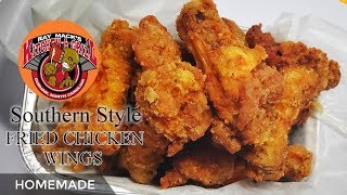 How To Fry Chicken Wings / Fried Chicken Wings