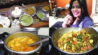 INDIAN LUNCH ROUTINE    perfect sambar recipe    Idli and Green Nariyal Chutney    Indian vlogger   