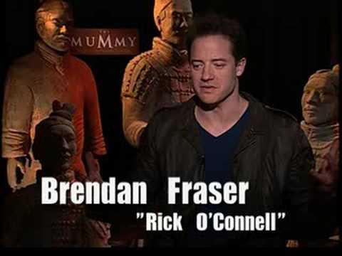 Download Brendan Fraser interview The Mummy Tomb Dragon Emperor