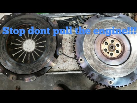How To Replace The Clutch On A 2014 Chevy Spark, With Out Pulling The Engine!!!