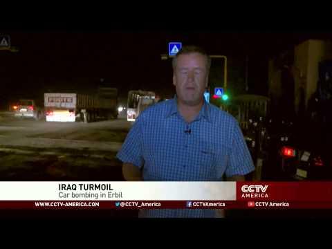 Car bomb goes off in Erbil, Iraq