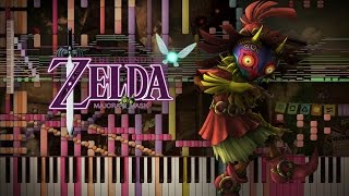 Synthesia: The Legend of Zelda  - Great Fairy Fountain | 7,000+ Notes | Black MIDI