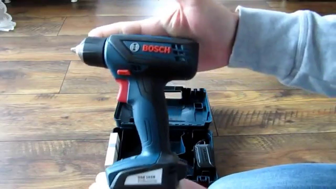 Unpacking Unboxing Cordless Drill Drivers Bosch Gsr 1000