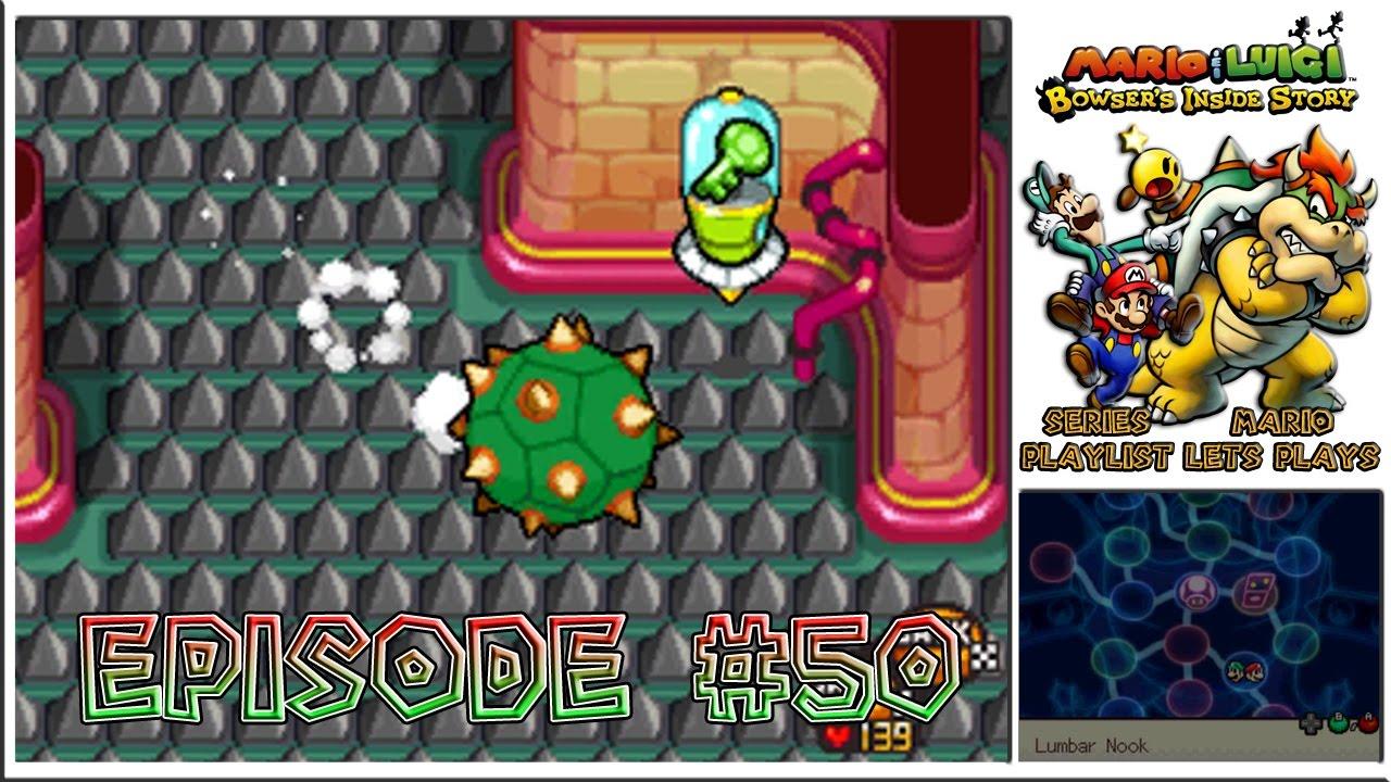 Mario Luigi Bowser S Inside Story Peaches Castle Key Search Begins Episode 50