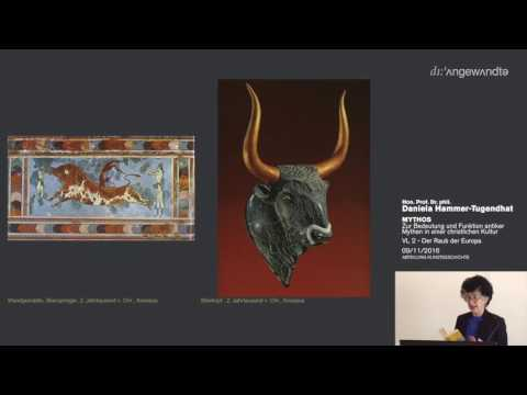 Bedeutung und Funktion antiker Mythen in der christlichen Kultur - Vorlesung 2 - Der Raub der Europa