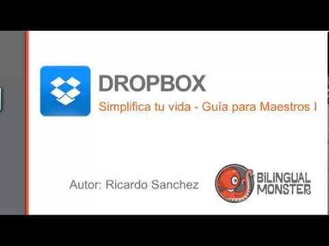 Dropbox- Guia para maestros I