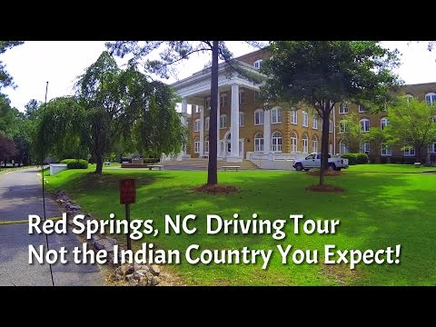 Indian Country Driving Tour - Red Springs, NC - Nice!