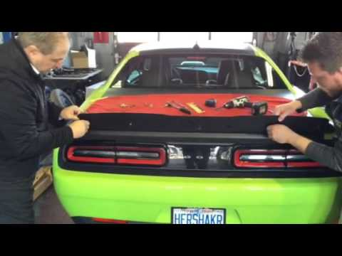 Steve White Motors Gurney Flap Wickerbill Installation