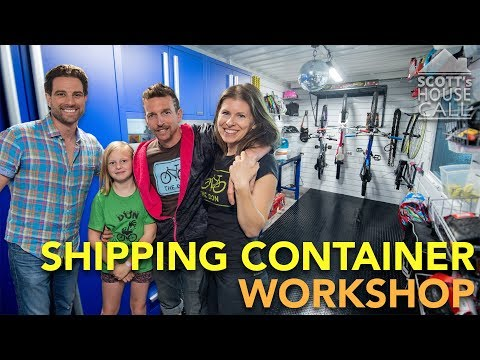 Shipping Container Workshop | Scott's House Call S3 (EP 6)