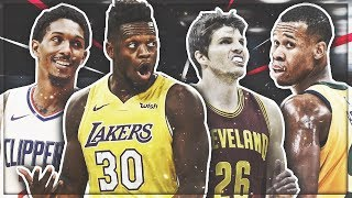 THE BEST BENCH PLAYERS IN THE LEAGUE! NBA 2K18 SQUAD BUILDER