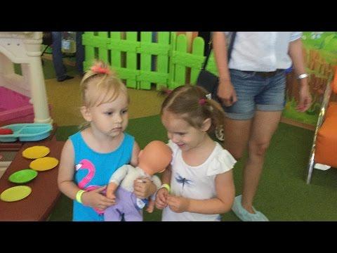 VLOG Развлекательный Центр ЕДЕМ НА КАЧЕЛИ Видео Для Детей Playground Fun video Kids ТРК СБС