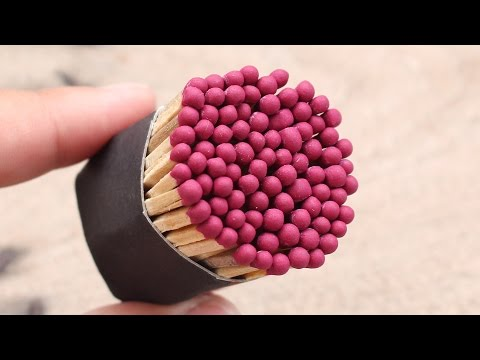 Thumbnail: 4 Matches Life Hacks YOU SHOULD KNOW !