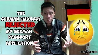 German Embassy REJECTED my German Passport Application